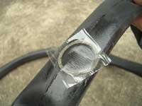 自転車のパンク修理