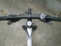 マウンテンバイクステム交換