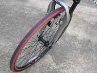 自転車のタイヤ